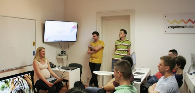 Od učenika do gostujućih predavača – Ivana Mirkov i Stefan Tomić