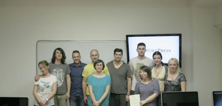 Vesti iz nove učionice – WordPress developeri spremni za projekte. Čestitamo!