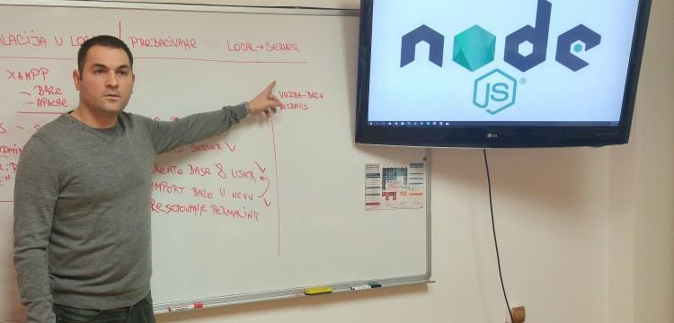Razgovor sa Danilom Vešovićem, predavačem JavaScript-a