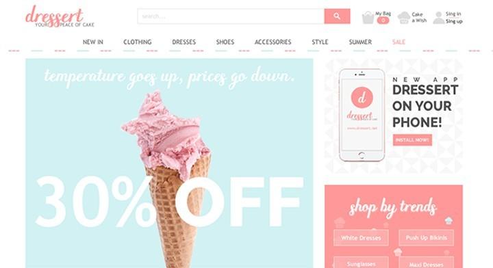 Idejno Rešenje - Web Shop