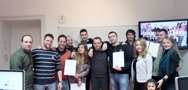 Dobri rezultati i zasluženi sertifikati – čestitamo web dizajnerima klase XXVI!