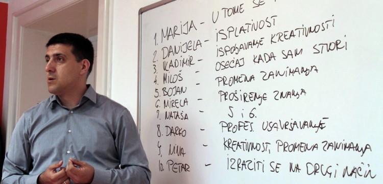 Gostujuće predavanje Vladimira Miletića, autora bloga Dnevnik jednog direktora