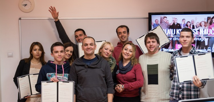 Slušali su sebe i predavače. Čestitamo vrednim i upornim web dizajnerima klase 29!