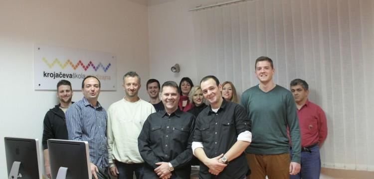 Čestitamo! XIX klasa web dizajnera Krojačeve škole završila svoju obuku