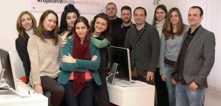 Mali jubilej Krojačeve škole – dvadeseta klasa web dizajnera stigla do prvog cilja