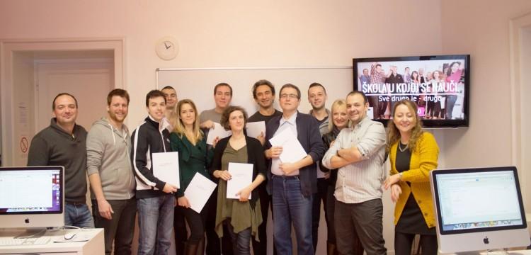 Naučili, primenili, postali odlični web dizajneri i dobri prijatelji – čestitamo klasi XXV!