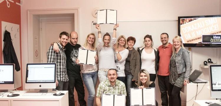 Sada je sve lakše i jasnije - klasa XXIII zaslužila je sertifikate!