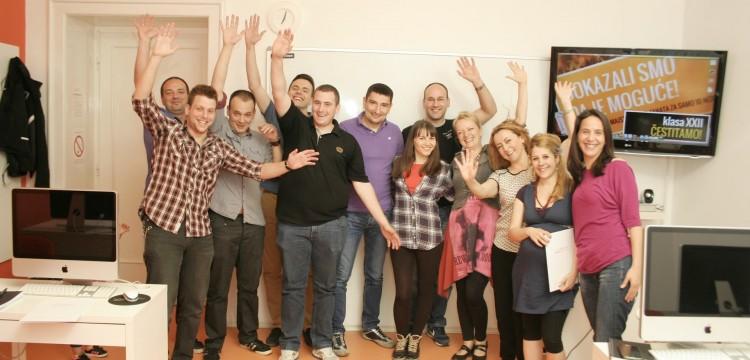 Veseli i izuzetni web dizajneri – čestitamo klasi XXII!