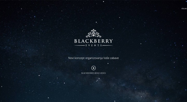 Blackberry Events