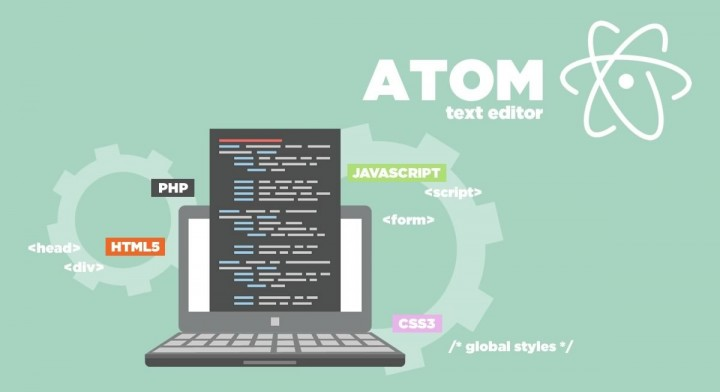Atom text-editor...