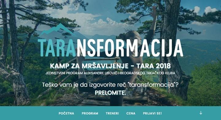 Kamp za mršavljenje - Tara 2018