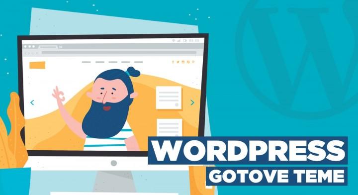 WordPress: Rad sa gotovom temom