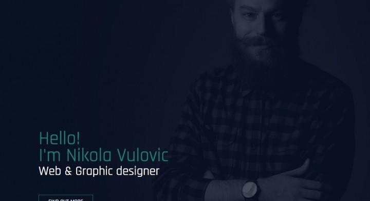 Lični portfolio sajt