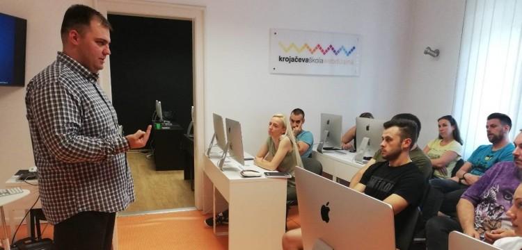 Sada znamo kako da otvorimo IT firmu u Srbiji - Milan Trbojević bio je gostujući predavač
