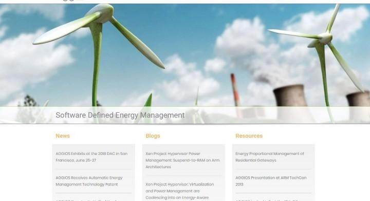 AGGIOS Website Redesign