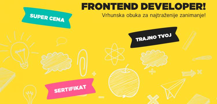 Zašto je frontend developer najtraženije zanimanje?