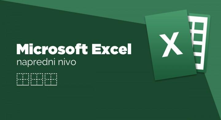MS Excel, napredni nivo