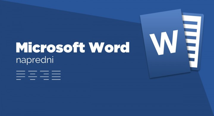 MS Word, napredni nivo