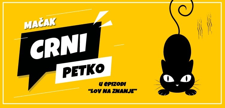 """Crni Petko u epizodi """"Lov na znanje"""": 7 evra za sjajne kurseve!"""