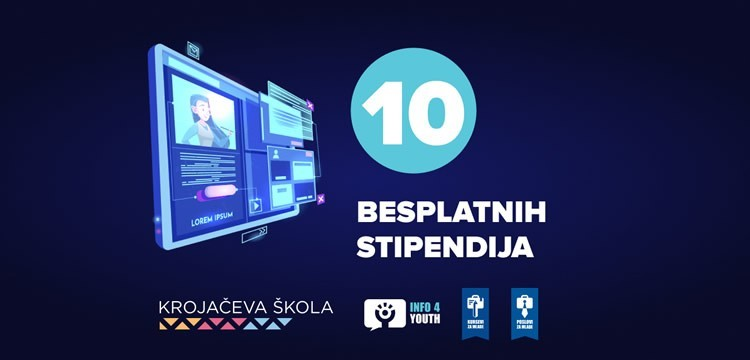 Info4Youth i Krojačeva škola traže stipendiste!