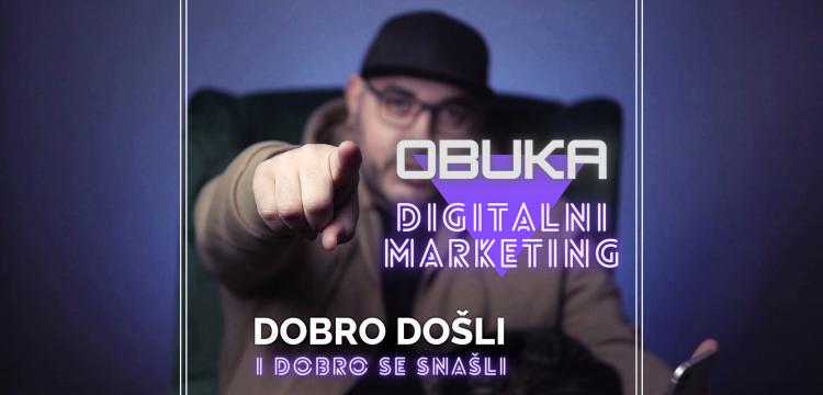 Digitalni marketing: PET kurseva, JEDNA obuka - i to kakva!
